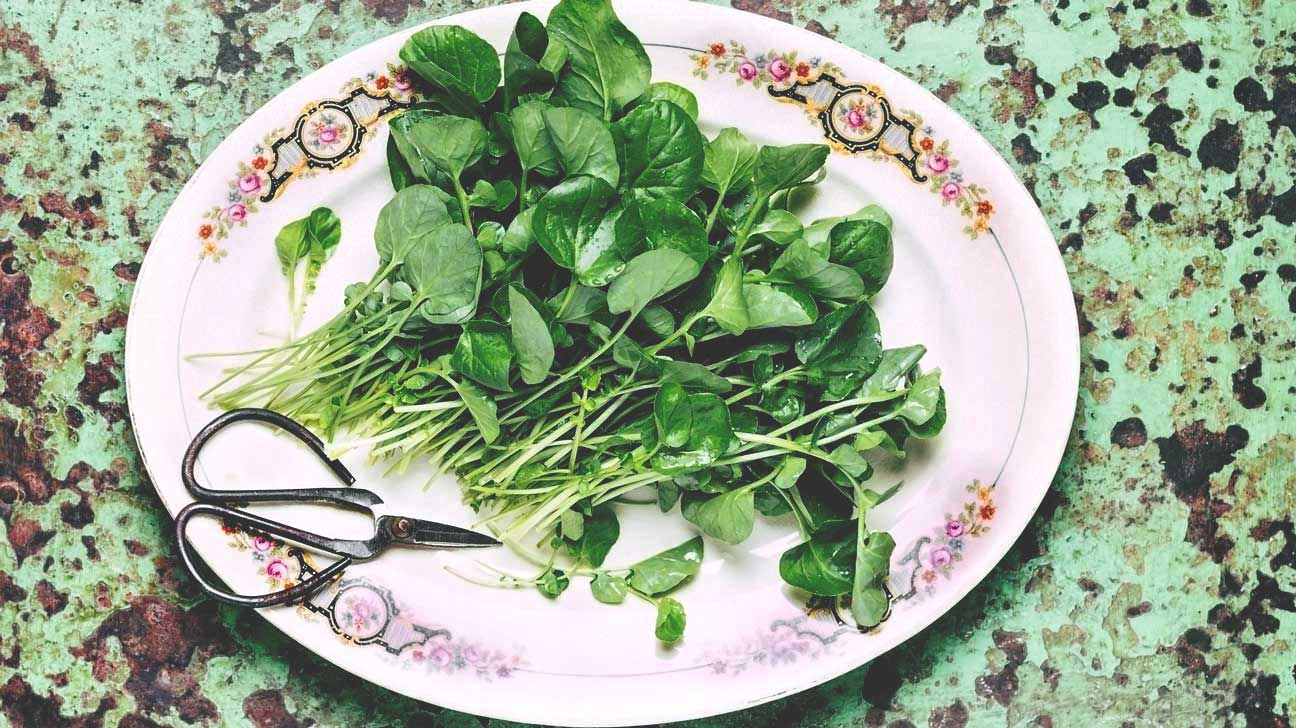 Benefits of watercress for body, skin and hair