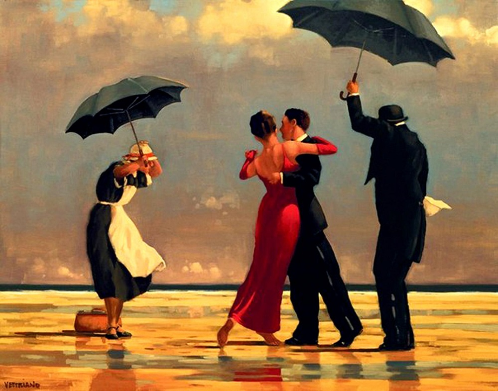 Jack Vettriano - The Singing Butle