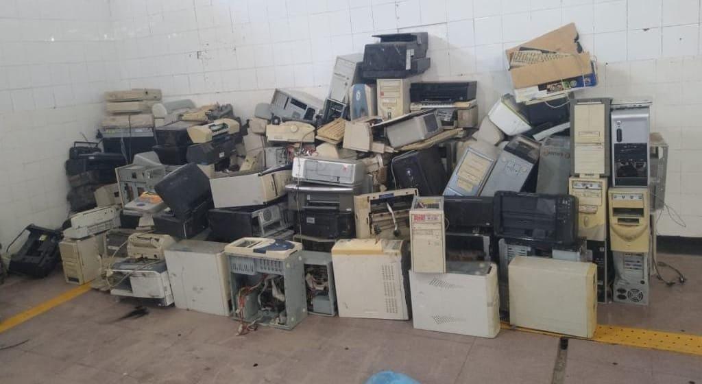 Entrega de residuos eléctricos y electrónicos