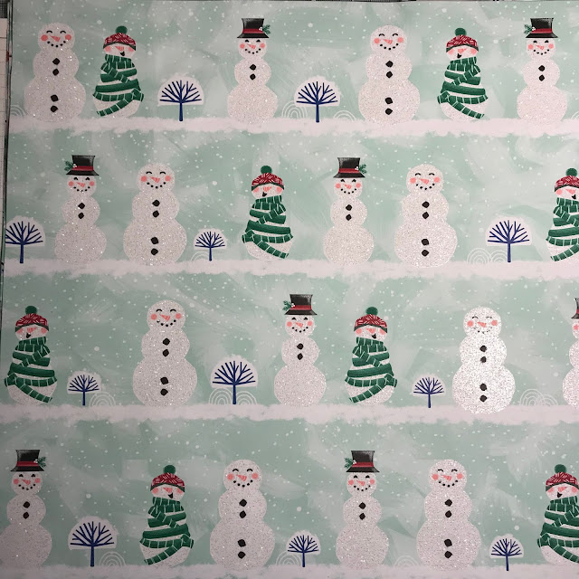 Stampin Up Let is snow speciality DSP