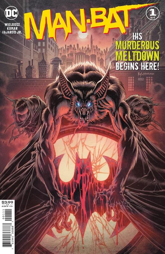 Cover of Man-Bat #1