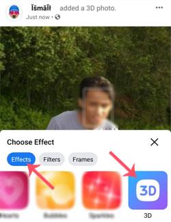 Cara Membuat Postingan Foto Biasa Jadi Foto 3D Di Facebook