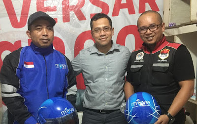 Manajemen MOVE Indonesia Sambangi GASPOOL Lampung