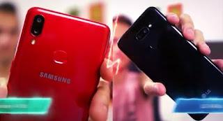 GALAXY A10S VS LG K40S||