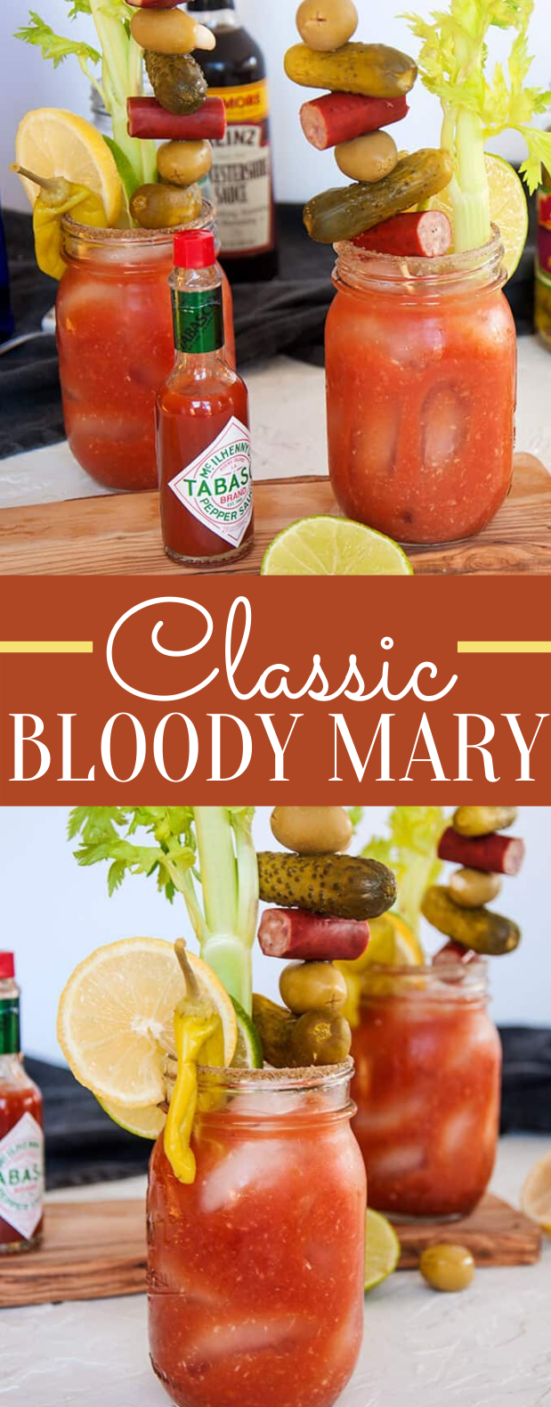 Classic Bloody Mary Recipe #cocktails #drinks #vodka #summerdrink #classicdrink