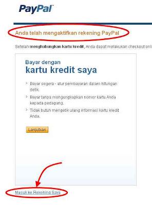 aktifkan PayPal