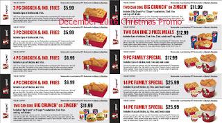 Kfc coupons december 2016