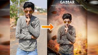 Picsart Action Movie Poster Editing| Manipulation Editing