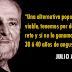 """Julio Anguita: """"¿Qué va a hacer el nuevo Gobierno cuando la Troika obligue nuevos recortes?"""""""