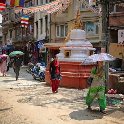 Calle de Katmandú