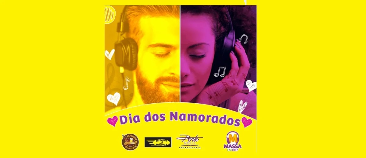 Promoção Massa FM Dia dos Namorados 2020 Rádio - Jantar, Vale Compras e Passeio