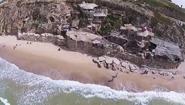 Casa Hobbit en el Mediterraneo - Turismo en Israel