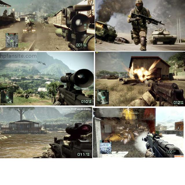 sugestões de jogos fps: battlefield bad company