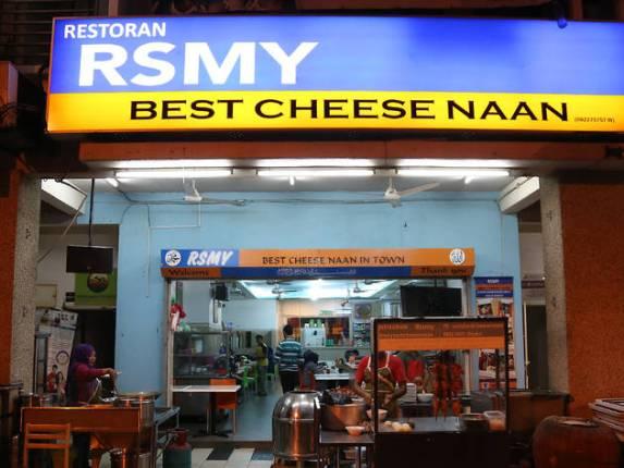 RSMY Best Cheese Naan Tempat makan sedap di kuala lumpur kl