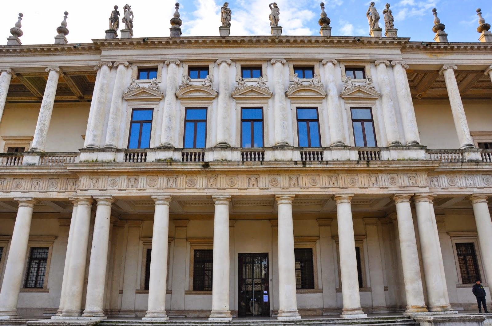 majestic facade Palazzo Chiericati Renaissance gem designed by Andrea Palladio Vicenza Italy