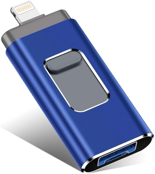 KEAINIKJ 256GB USB Flash Drive for iPhone
