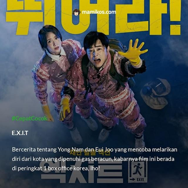 Rekomendasi Film di Bulan Agustus yang Menarik Ditonton E.X.I.T