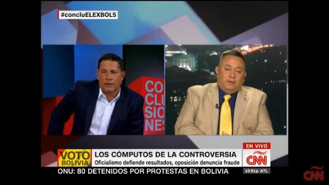 FRAUDE: Experto internacional VALIDA análisis del ingeniero boliviano Edgar Villegas