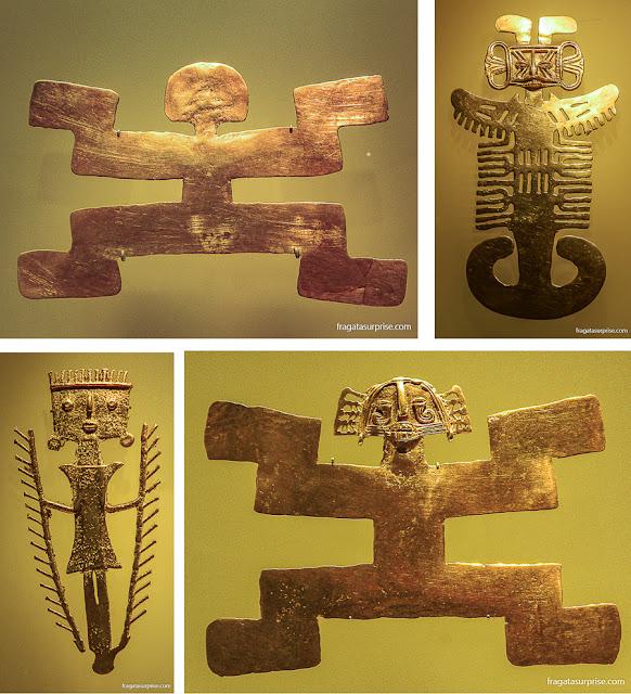 Peças da cultura Tolima, Museu do Ouro de Bogotá