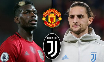 OMG! Juventus Offer Manchester United £60m + Adrien Rabiot For Paul Pogba!