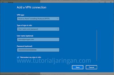 Tutorial Cara Setting VPN di Windows 10