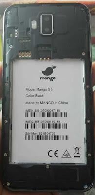 Mango S5 Flash File