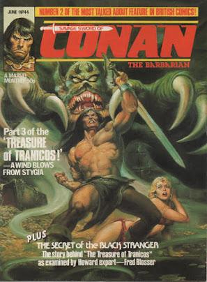 Savage Sword of Conan #44, Marvel UK
