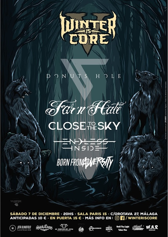 Winter is core V Line Up