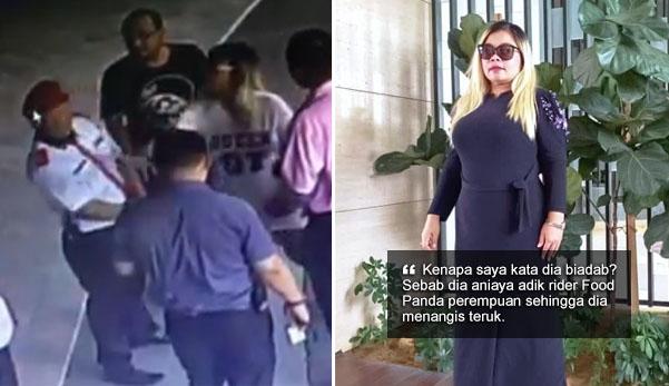'Saya tampar sebab pengawal keselamatan itu biadab' - Datin tampil cerita hal sebenar, nafi acah Diva
