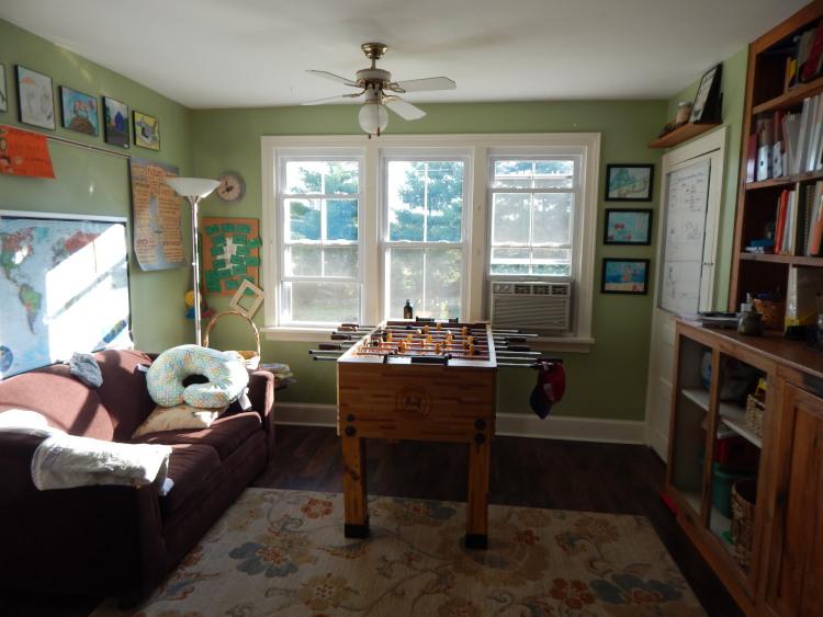 burlap window shades thy hand hath provided august 2016