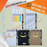 Souvenir Notepad, Notes Memo, memo promosi custom, souvenir memo lucu, Memo Promosi Perusahaan kode 906