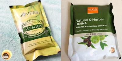 Jovees & VLCC Herbal Henna