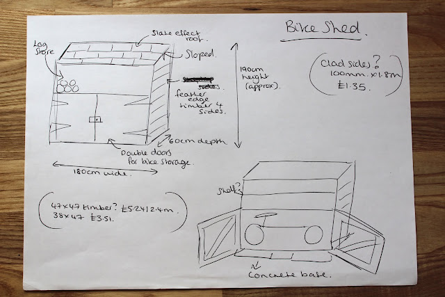 DIY plans for a shed