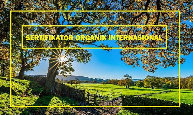 sertifikator organik internasional