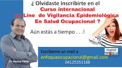Curso de Vigilancia Epidemiológica en Salud Ocupacional