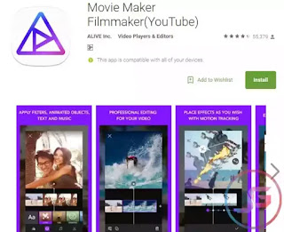 aplikasi edit video di android movie maker fillmaker