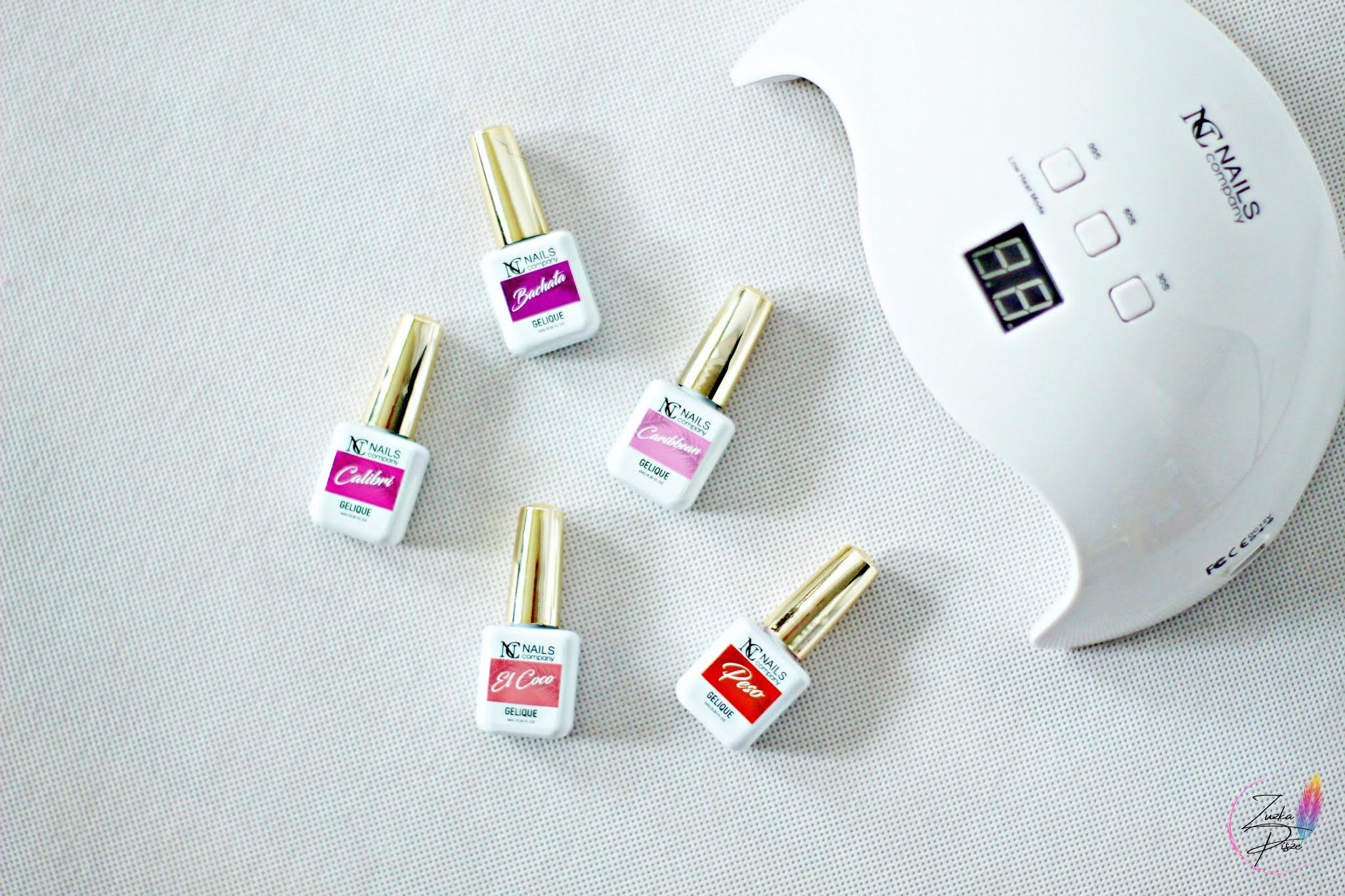 NC Nails Company - DOMINIKANA - niezastąpione lakiery hybrydowe