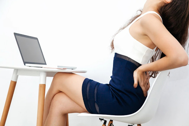 lower back pain - sitting postures