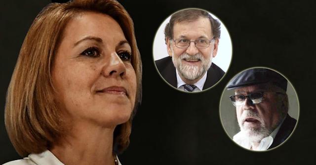 """El marido de Cospedal aseguró a Villarejo que Rajoy estaba al tanto: """"El jefe está de acuerdo"""""""