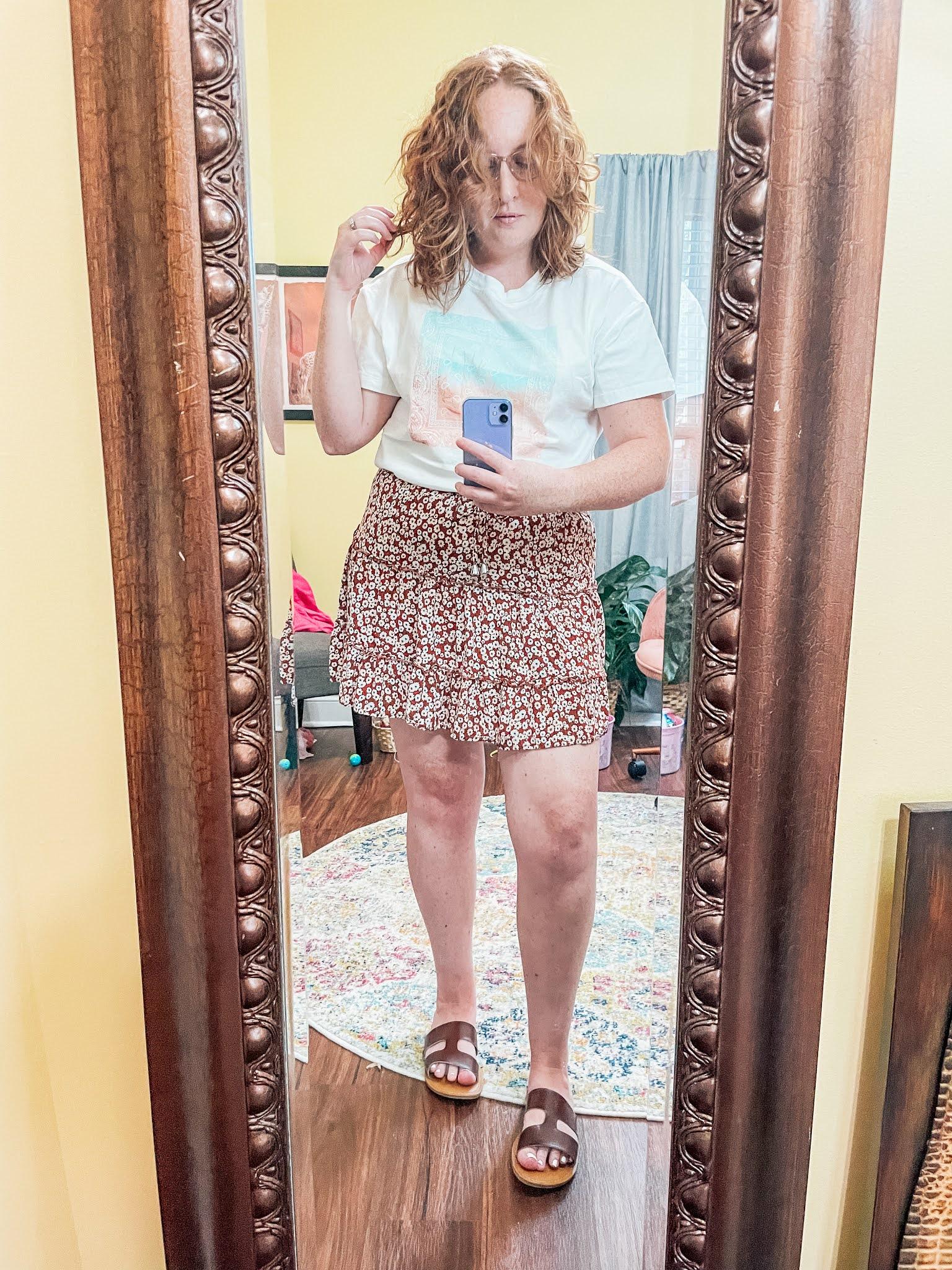 beach-tshirt-floral-skirt