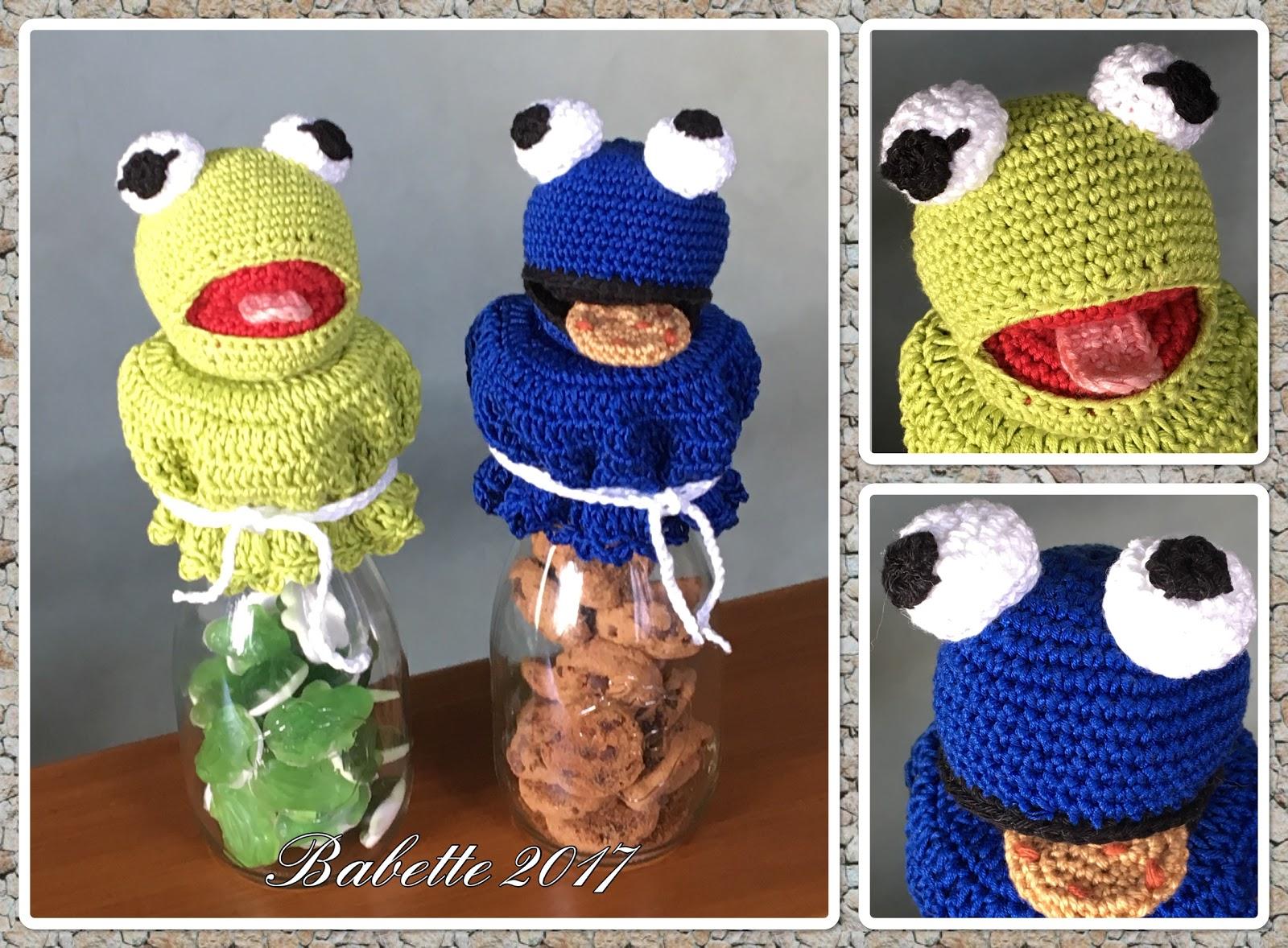 Babettes Kreativ Chaos Kermit Und Krümelmonster