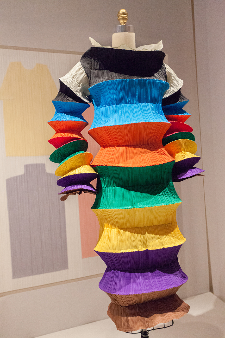 My favorite! It is all about the name and it has got spirit.   MIYAKE DESIGN STUDIOS 1994  Flying Saucer Dress