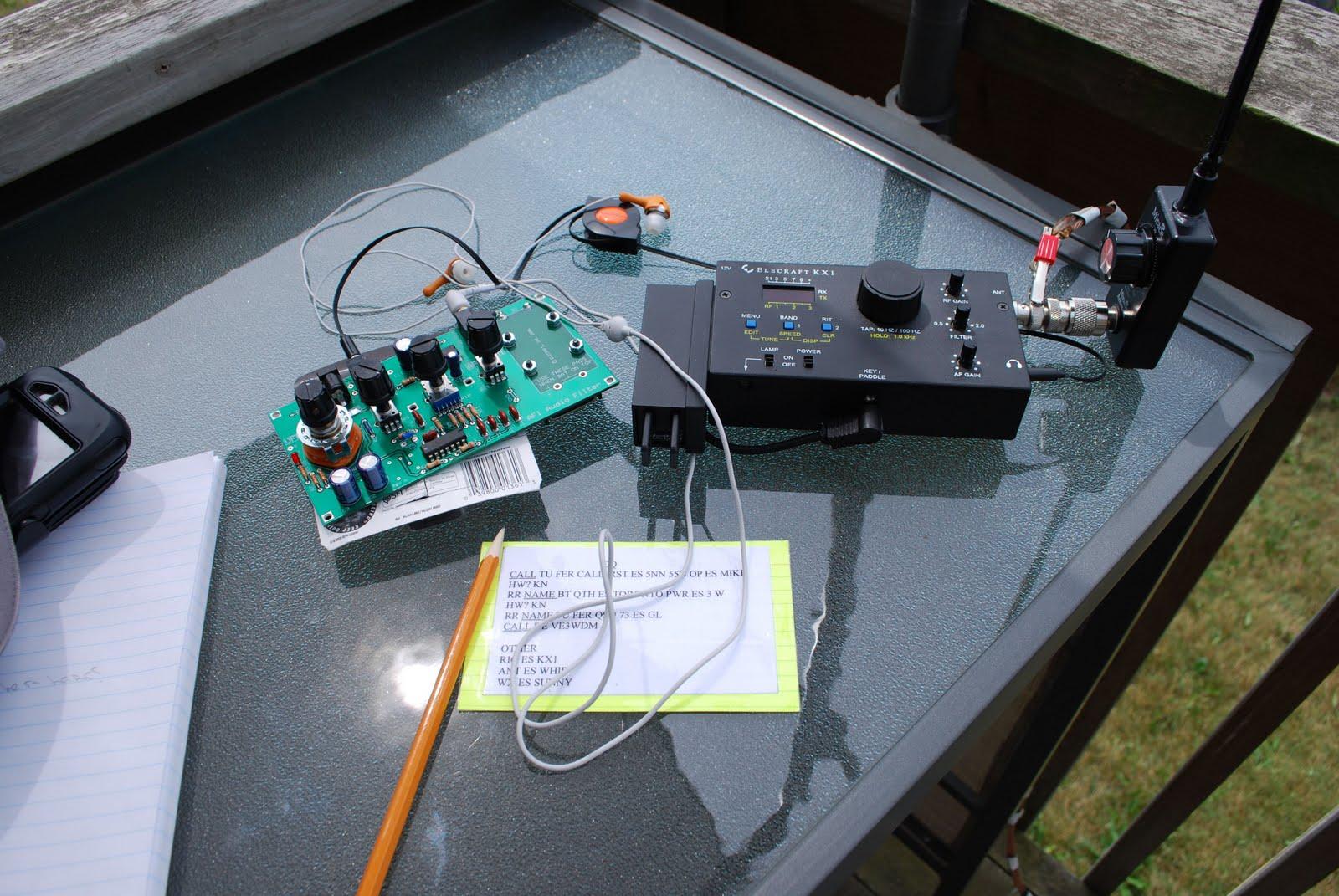 VE9KK QRPower BLOG: AF1 VS KX1 problem solved