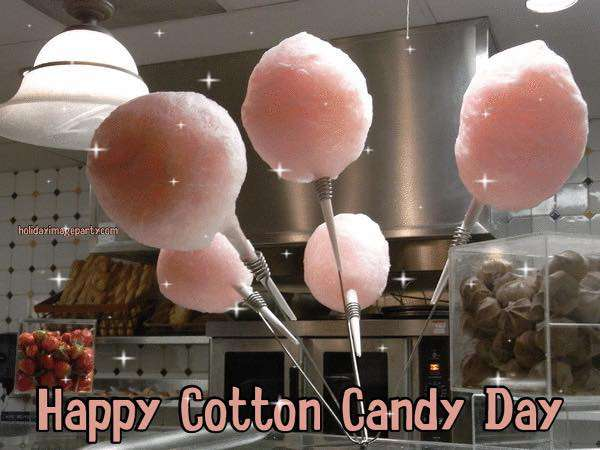 National Cotton Candy Day Wishes Beautiful Image