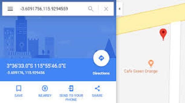 Cara Melihat Koordinat di Google Maps di Android dan PC