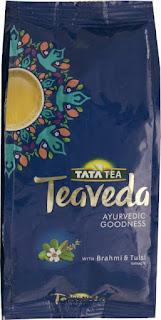 Tata Teaveda Ayurvedic Goodness Brahmi, Tulsi Tea Pouch  (250 g)