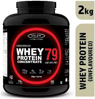 Sinew Nutrition Instantised Whey Protein Concentrate 79%.