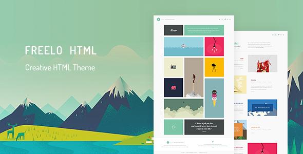 Creative HTML Portfolio Theme