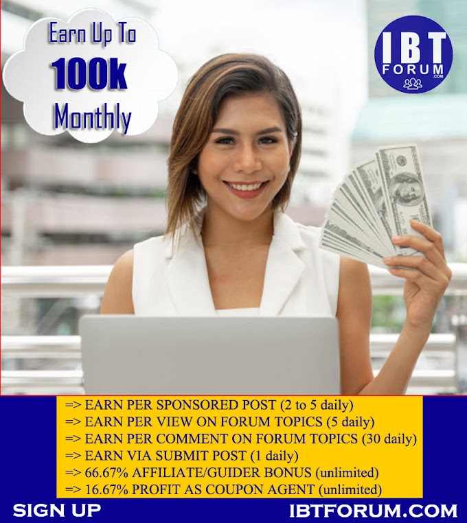 IBT Forum Income Trick- Secret Of Making Money Online