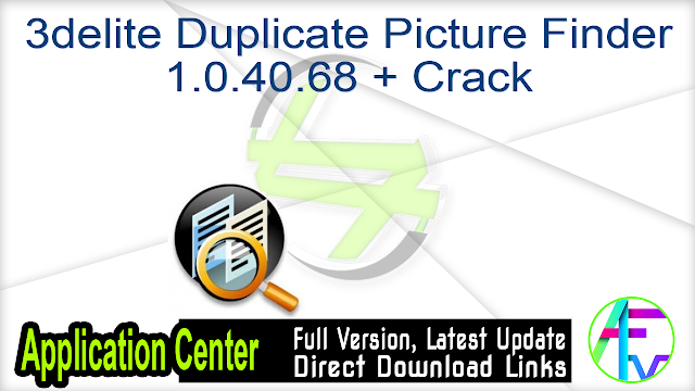 3delite Duplicate Picture Finder 1.0.40.68 + Crack